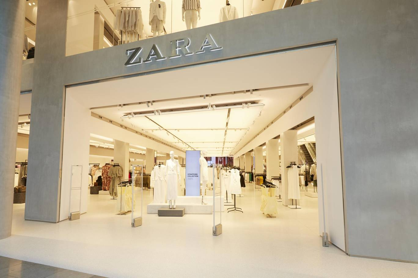 Zara Digital Age High Street Store 1