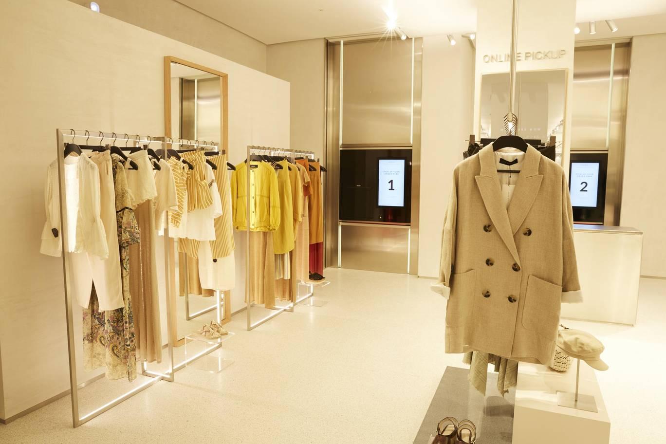 Zara Digital Age High Street Store 2