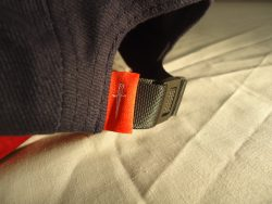 Custom 5 Panel cap with Faux Suede Underpeak