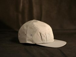 Custom Hi-Viz reflective 5 Panel cap with 3D embroidery.
