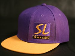 Purple and Yellow Snapback colour options