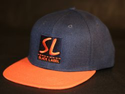 Navy and Orange Snapback colour options