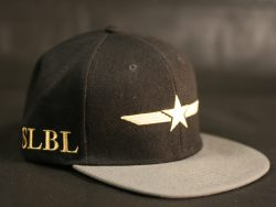 Black and Grey Snapback colour options