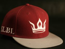 Maroon and Grey Snapback colour options