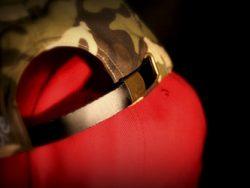 Strapback Cap - leather adjuster with brass buckle adjuster