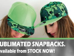 SUBLIMATED SNAPBACKS