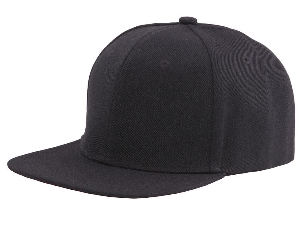 Essential 47 Snapback - Black with Black Underpeak