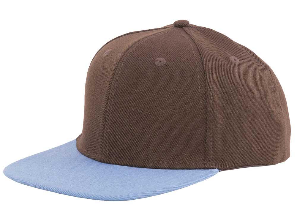 Essential 47 Snapback - Brown/Sky