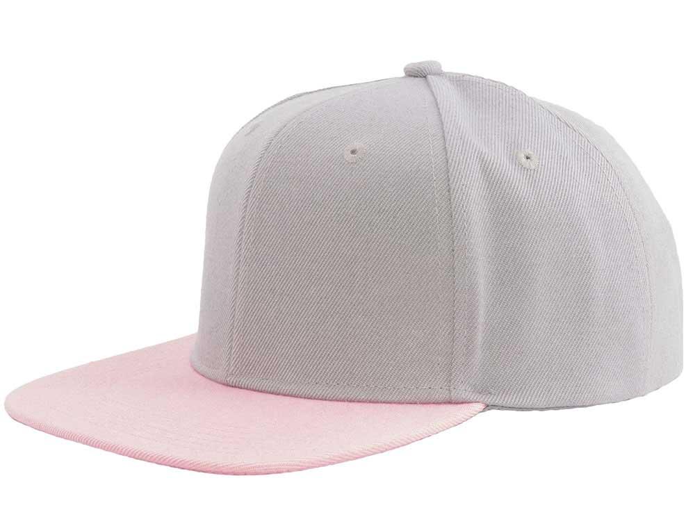 Essential 47 Snapback - Grey/Pink