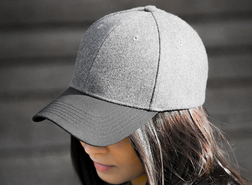 CLASSIC47 MELTON Grey/Black
