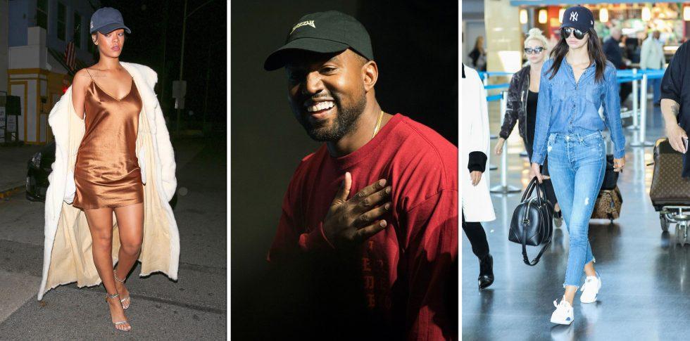 Rhianna - Kanye West - Kendall Jenner