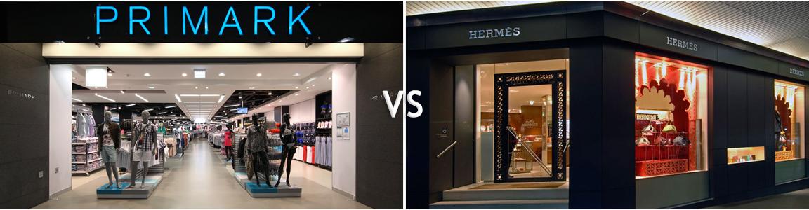 PRIMARK VS HERMES