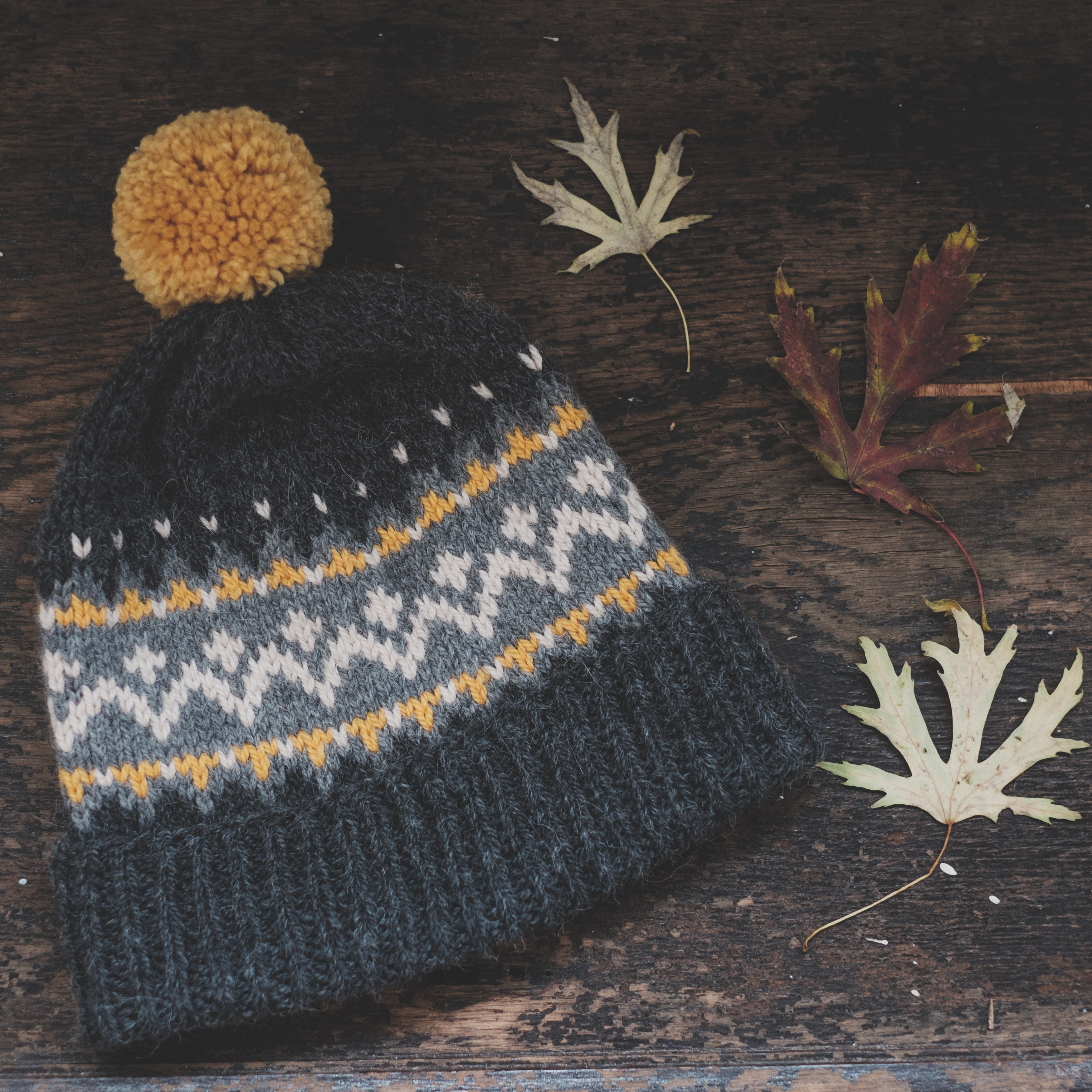 Jacquard Knit Bespoke Beanie