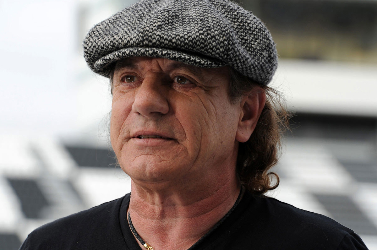BRIAN JOHNSON - MUSIC HEADWEAR