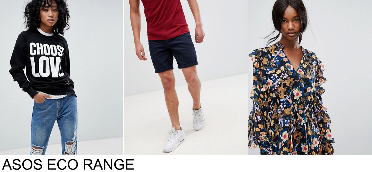 ASOS SUSTAINABLE RANGE