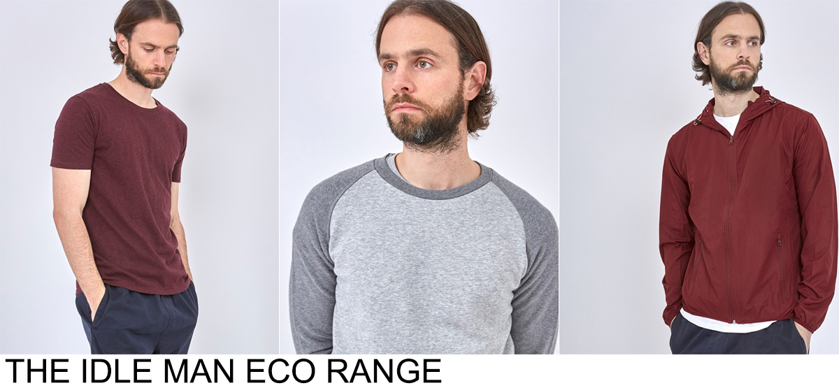 THE IDLE MAN SUSTAINABLE RANGE