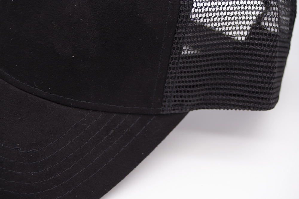 Suede Trucker Black Detail