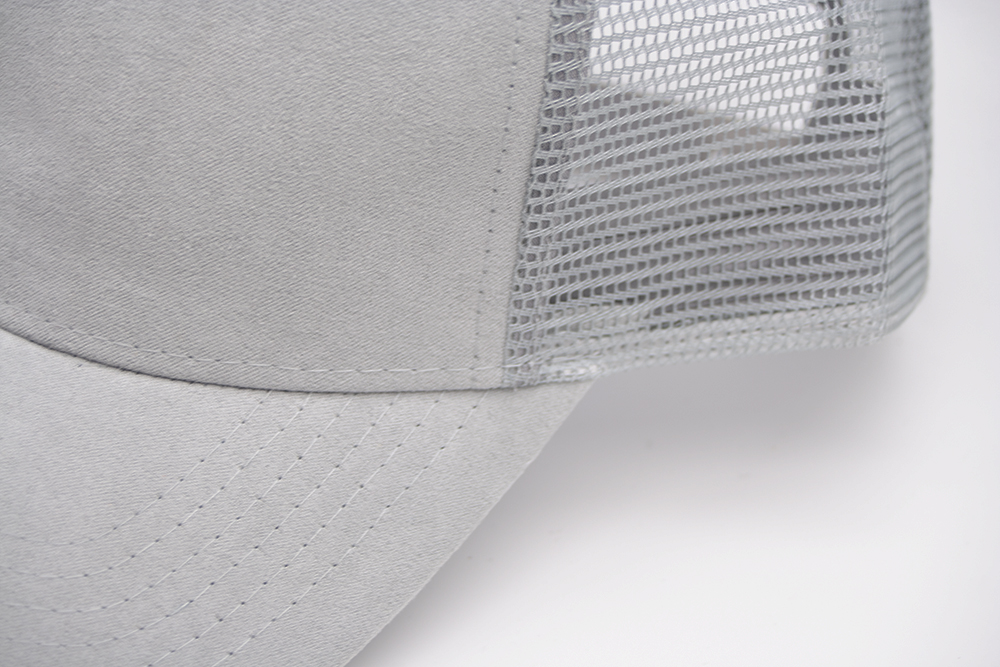 Suede Trucker Grey Detail