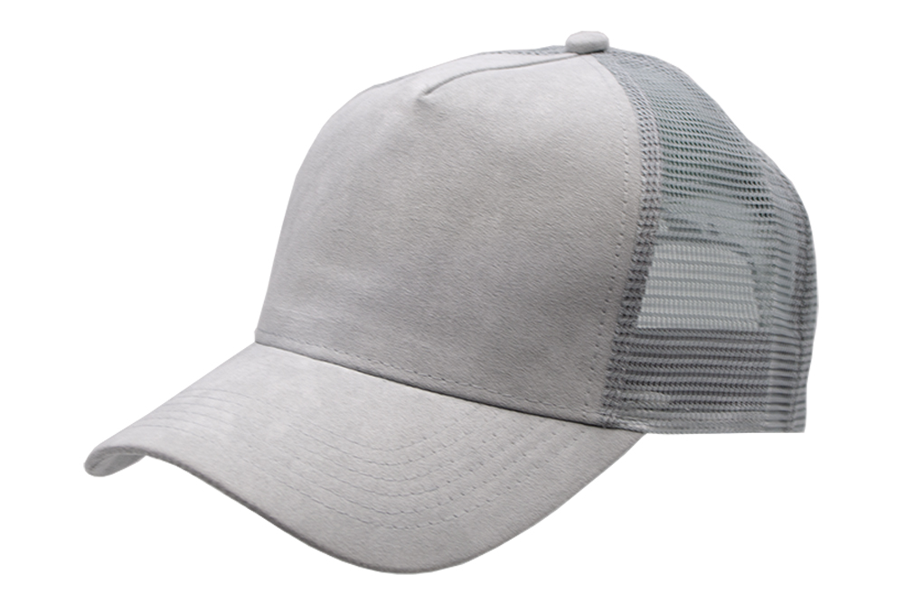 Suede Trucker Grey