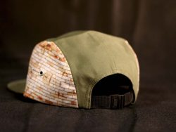 Custom 5 Panel caps available in a wide range of fabrics, styles, designs and finishes, including all over sublimation print.