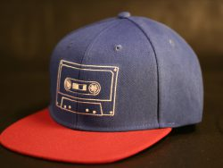 Royal and Red Snapback colour options