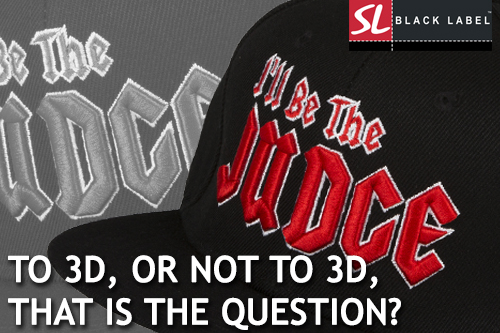 TO 3D OR NOT TO 3D